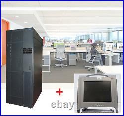 19 48cm SERVERSCHRANK IBM RS6000 + MONITOR DELL POWEREDGE RACK CONSOLE 15FP L2