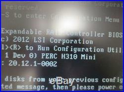 1U Server Dell PowerEdge R420 6-Core Xeon E5-2420 8GB PERC H310 Mini, 3.5