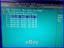 2U Server Dell PowerEdge R520 QC Xeon E5-2470 2.2GHz 16GB, 4x1TB, 2x300GB H710