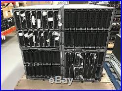 4 x Dell PowerEdge M100e Chassis with 18 x M610 2 x M600 5 x M905 Servers