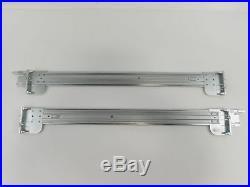 Complete Set of Dell Poweredge R510 R515 2U Sliding Rail Kit 0Y8P81 0J7H9H Rails