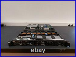 DELL POWEREDGE R620 2X XEON E5-2630 V2 128GB DDR3 10GbE iDRAC7 8X SFF SERVER