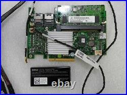DELL POWEREDGE R710 2.5 PERC H700 SAS SATA 6Gb/s 512MB RAID & BATTERY CABLE KIT