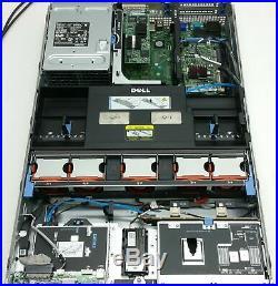 DELL POWEREDGE R710 SERVER 2INTEL XEON E5520 QUAD-CORE 2.27GHz CPU 96GB PERC 6i