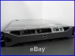 DELL POWEREDGE R720xd SERVER 24 BAY XEON E5-2660 V2 64GB H710P ENTERPRISE IDRAC