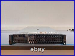 DELL POWEREDGE R730 2X XEON E5-2660 V4 64GB DDR4 H730P iDRAC8 16X SFF SERVER