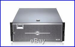 DELL POWEREDGE R900 SERVER 4 QUAD CORE XEON X7350 2.93GHZ 64GB RAID PERC Two PS
