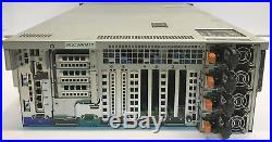 DELL POWEREDGE R910 With4x E7-4870 10C 2.4GHZ PERC-H700 IDRAC6 4x 1100W P/S NO MEM