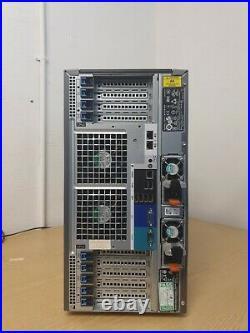 DELL POWEREDGE T630 2 x E5-2620 V3 6-CORE 64GB RAM 3 x 1TB 7.2K SAS Perc H330