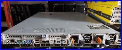 DELL PowerEdge R620 10-Bay 1U Server 2xE5-2630V2 2.6GHz 6C 64GB H710P 10Gbe NIC