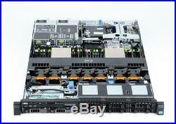 DELL PowerEdge R620 2×E5-2690 Xeon 8-Core 2.9GHz 64GB RAM 8×600GB 15K SAS RAID