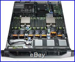 DELL PowerEdge R620 2×E5-2690v2 Xeon 10-Core 3.0GHz 64GB RAM 8×500GB H710 RAID