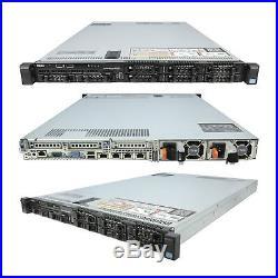 DELL PowerEdge R620 2x 2.50Ghz E5-2640 Six Core 64GB 2x 300GB 15K SAS