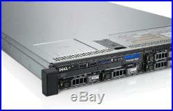 DELL PowerEdge R620 Server 2×Xeon 8-Core 2.6GHz + 128GB RAM + 4×900GB SAS RAID