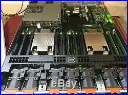 DELL PowerEdge R630 Server Dual 6-Core E5-2620 v3 32GB 400GB SSD ESXi HyperV