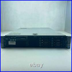 DELL PowerEdge R710 2 x INTEL XEON E5620 @ 2.40GHz 24GB DDR3 ECC RAM NO HDD
