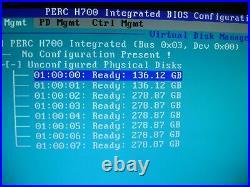DELL PowerEdge R710, 2 x QUAD-Core Processors, 36GB Mem, 2TB Storage, RAID Contr
