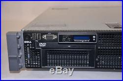 DELL PowerEdge R710 2x E5620 2.4GHz 48GB PERC 6/i iDRAC6 Ent 2x PS 2U Server