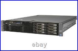 DELL PowerEdge R710 Server 2×Xeon Six-Core 2.66GHz + 48GB RAM + 8×300GB SAS RAID