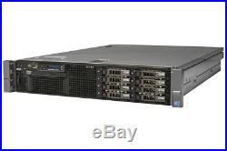 DELL PowerEdge R710 Server 2×Xeon Six-Core 2.66GHz + 72GB RAM + 4×900GB SAS RAID