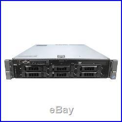 DELL PowerEdge R710 Server 2x 2.40Ghz E5530 Quad Core 72GB 6x 1TB