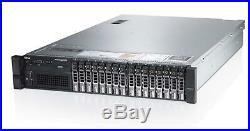 DELL PowerEdge R720 2×6-Core E5-2630v2 Xeon 2.6GHz 128GB RAM 16×500GB RAID