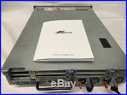 DELL PowerEdge R720 Rack Server Dual 4-CORE E5-2603 2x 300GB SAS VMware Hyper V