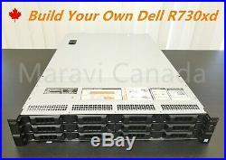 DELL PowerEdge R730xd Server 2x E5-2620 V3 CPU 12x 3.5 Bay H730 Raid 2X 750w PS