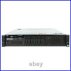 DELL PowerEdge R820 Server 4x E5-4627v2 3.30Ghz 32-Core 192GB H310