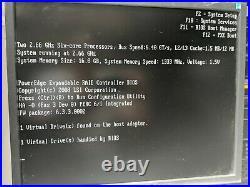DELL R610 Rack Server 2x 6-Core Xeon X5650 16GB 2146gb VMWARE home lab