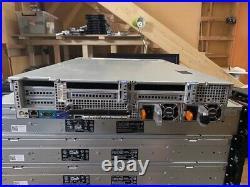 DELL R720 8 x 3.5 BAYS 2 x E5-2670 @ 2.60GHz (16 CORES) 128GB RAM H710P MINI