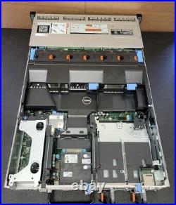 DELL R720XD DCS2210 12X3.5 BAYS 32GB RAM IT MODE Storage FreeNas CHIA Mining