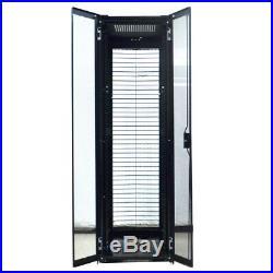 Dell 4220 PowerEdge 42U 19 Server Rack Enclosure 0GYF99 Black 7907060 No Keys