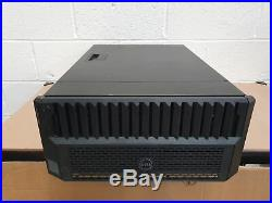 Dell EMC PowerEdge VRTX Server Chassis (4x Blades, 25x 2.5'' SFF, 4x 1110W PSU)
