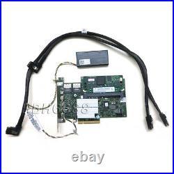 Dell Perc H700 512MB PowerEdge Server SAS Raid Controller & BATTERY CABLE KIT