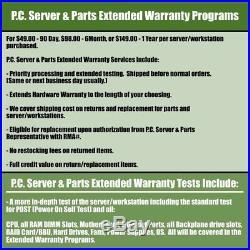 Dell PowerEdge 2900 III LFF Tower 8-Core 3.00GHz X5450 48GB 4x 1TB HD PERC 5i