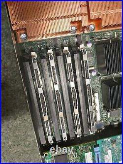 Dell PowerEdge M1000E Chassis + 16 x M600 blade Servers 16 x Quad-Core 64GB Ram