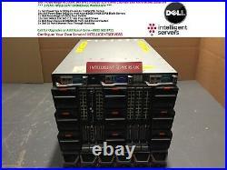 Dell PowerEdge M1000e 16x M610 E5620 128-Cores 1024GB 1TB RAM Blade Solution