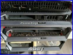 Dell PowerEdge M1000e Blade Server Enclosure 4 PSU 9 FAN 1 CMC KVM m610 8 blade