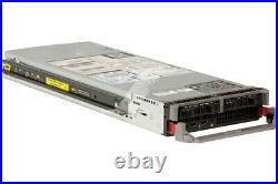 Dell PowerEdge M610 2x XEON 8 Cores E5520 @ 2.26GHz 32GB RAM 2x73GB HDD SERVER
