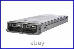 Dell PowerEdge M620 Blade Server 2x 6C E5-2620 2GHz 32GB Ram 2x 300GB 15K HDD