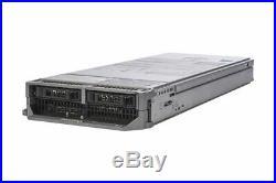 Dell PowerEdge M620 Blade Server 2x Quad-Core E5-2609 2.4GHz 8GB Ram 2x HDD Bay