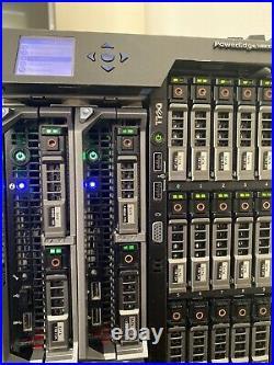 Dell PowerEdge M630 Blade Server 2x 6C E5-2620v3 2.4GHz 32GB Ram 2x960GB SSD SAS