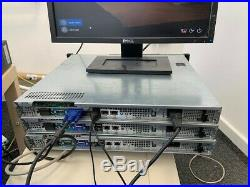 Dell PowerEdge R210 Server 1U Quad core Xeon 2.4GHz 16GB 2 x 500GB Free Shipping