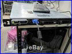 Dell PowerEdge R300 QUAD-Core XEON 2.5GHz 4GB Ram 1U Rack Server