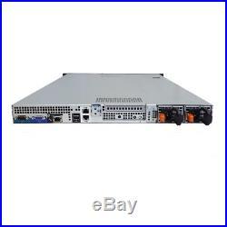 Dell PowerEdge R410 4x 3.5 Hot-Swap 2x 2.4GHz Quad 8GB PERC 6/i RPS 4x Caddy