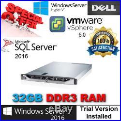 Dell PowerEdge R420 2x E5-2450L 1.80Ghz 8CORE 32GB RAM 300GB 10K PERC H310 mini
