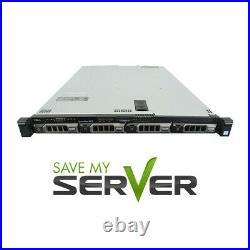 Dell PowerEdge R430 Server / 2x E5-2630 v3 =16 Cores / 32GB RAM / H330/ 4x Trays