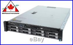 Dell PowerEdge R510 2U Storage Server (8x 3.5 HD) 32GB RAM 8Cores H200