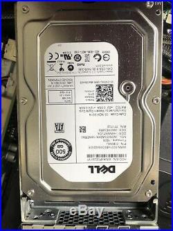 Dell PowerEdge R520 Server 2x E5-2450 v2 2.50GHz 48GB PC3L-12800R 2x 500GB SATA